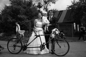 zatahování.....jsme holt nadšení cyklisti!!!!