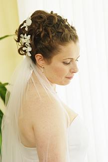 Svadobné účesy - Obrázok č. 25