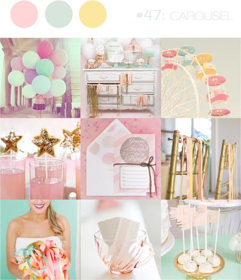 Wedding colour ideas... - Mint&Pink