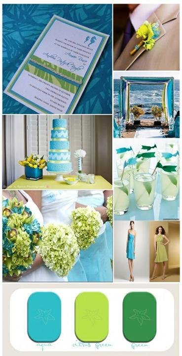 Wedding colour ideas... - Obrázek č. 14