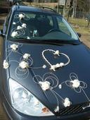 Dekorace pro nevěstu - smetanová,