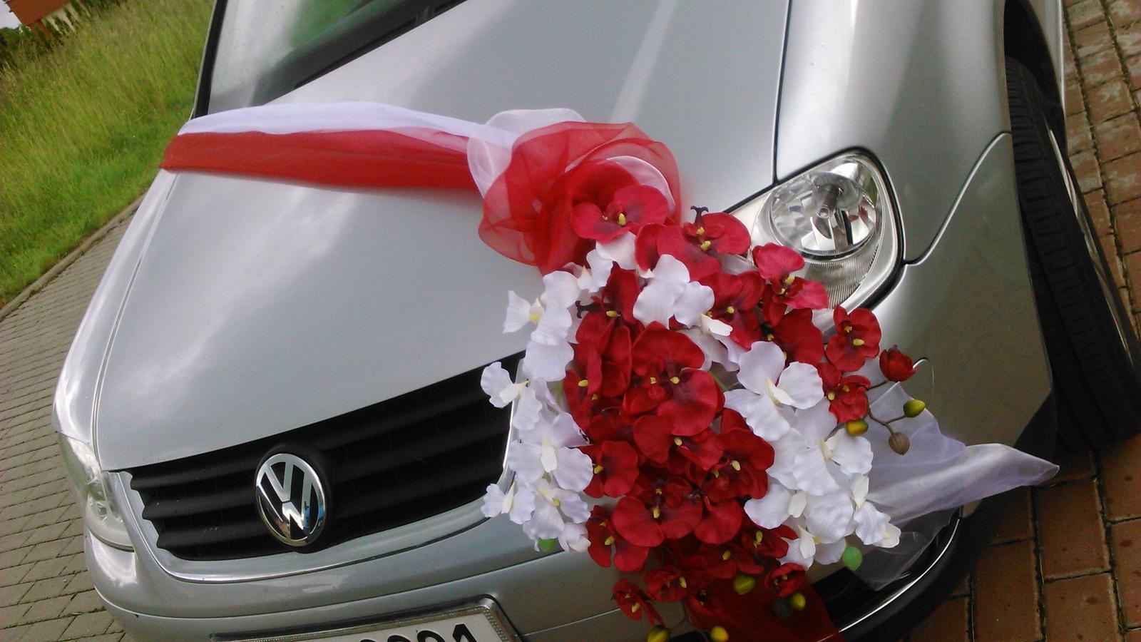 Svatební dekorace - orchideje - Obrázek č. 1
