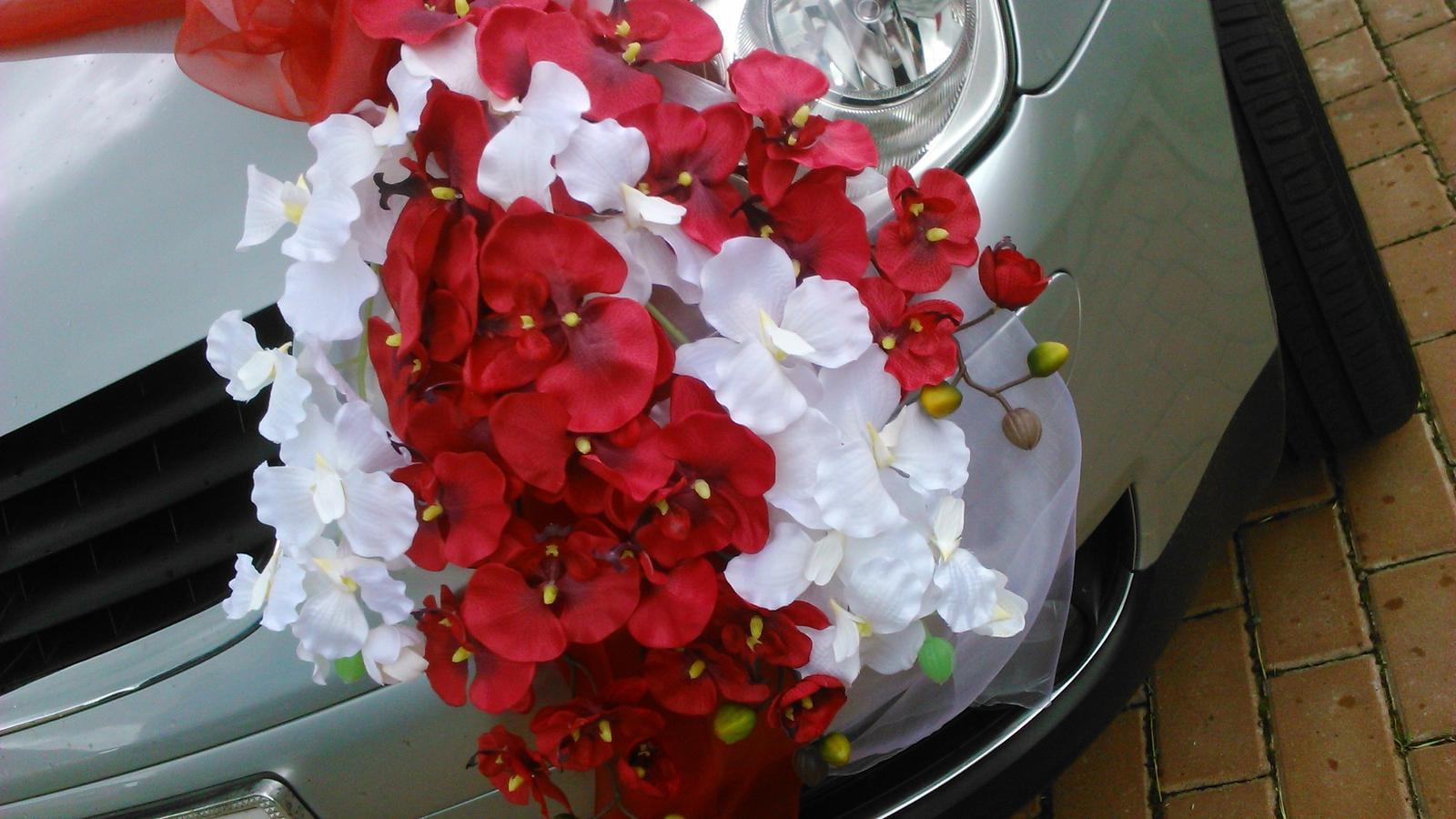 Svatební dekorace - orchideje - Obrázek č. 2