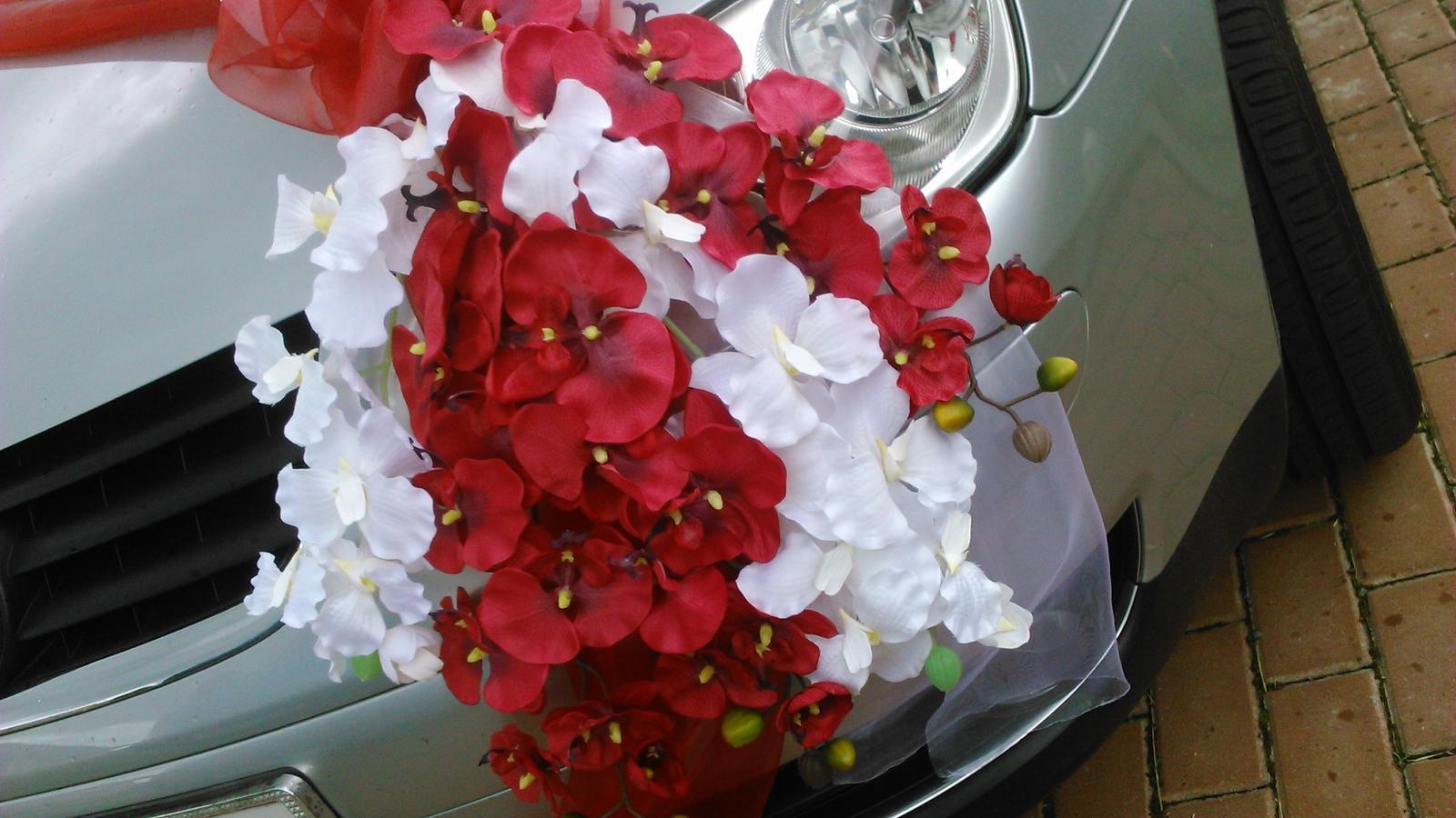 Svatební dekorace - orchideje - Obrázek č. 3