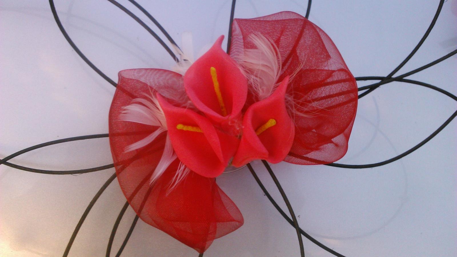 Svatební dekorace - kaly - Obrázek č. 4