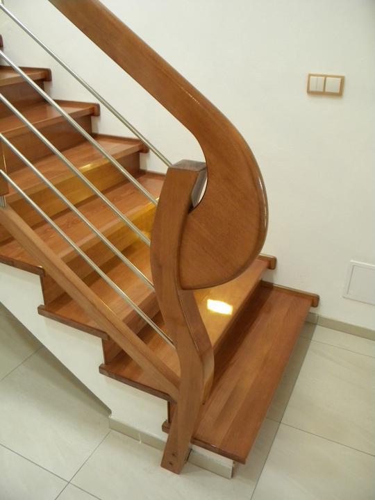 Drevene schody a zabradlia - Obrázok č. 8