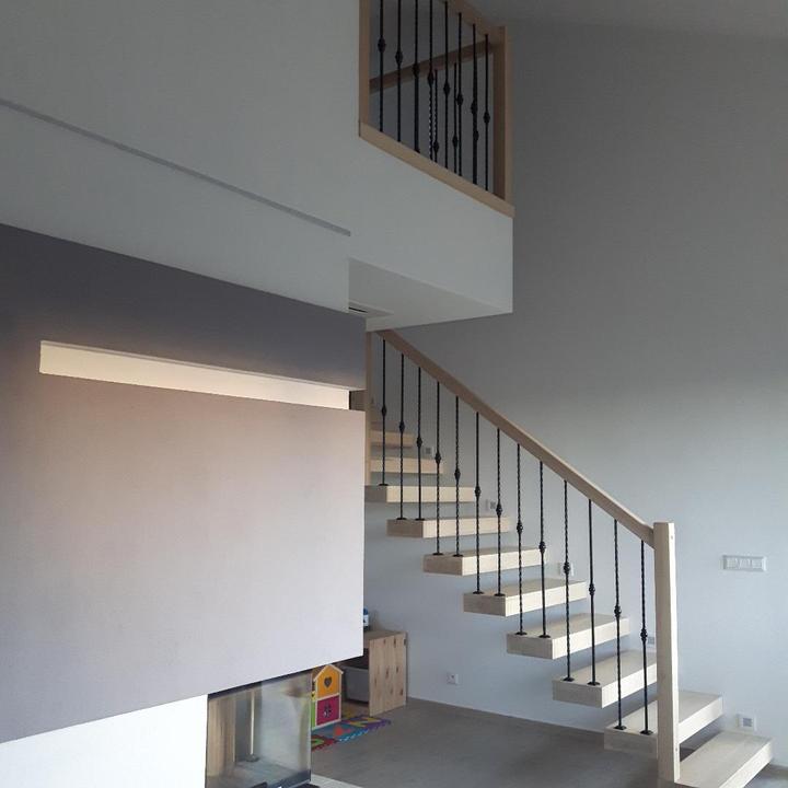 Drevené schody a zábradlia - Obrázok č. 4