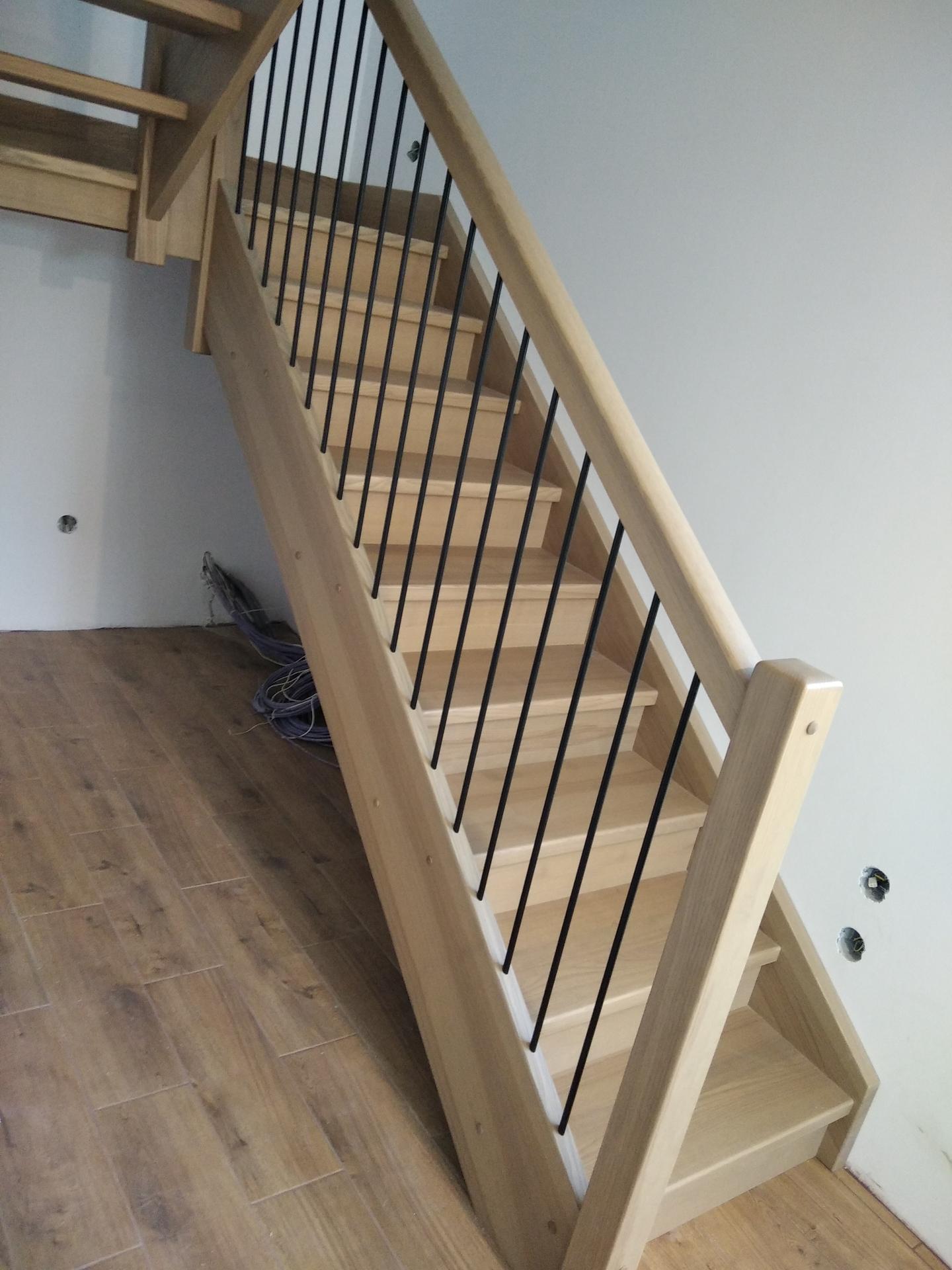 Výroba drevených schodov na mieru - Obrázok č. 1