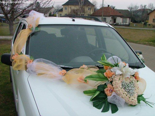 *Daniela+Milan*  príprava -18.10.2008 - zaujímava výzdoba na autíčko...