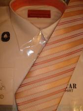 popolnočná košela a kravata