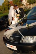naše svadobné autičko