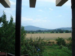 pohľad z balkona-nádhera...