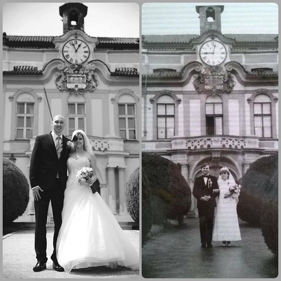Tereza{{_AND_}}Milan - My ted. Moji rodiče před lety :)