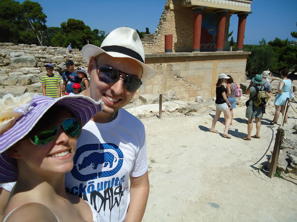 Tereza{{_AND_}}Milan - Knossos :-)