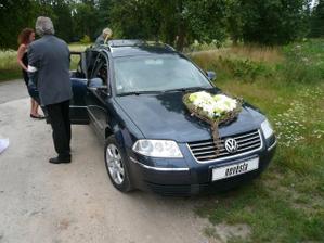 autíko nevěsty