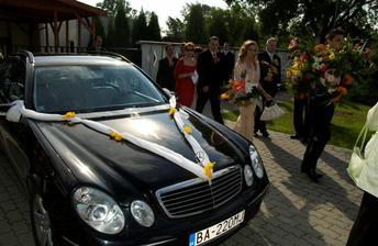 odchod na svadobnu hostinu