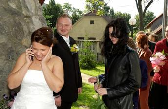 mile prekvapenie - kamaratka, ktora je v zahranici a nemohla prist, sa takto pridala ku gratulantom :-)