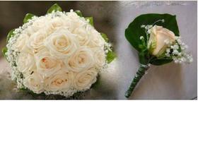 naše kytičky, jen u té mé možná bude pár sv. růžových růžiček :)