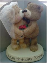 medvídci na dort