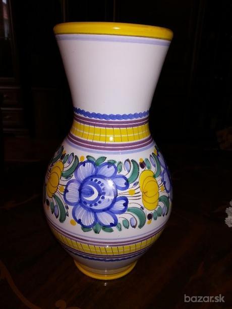 modranska keramika - 2 vázy - Obrázok č. 2