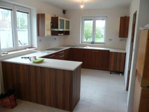 kuchyň ve výstavbě