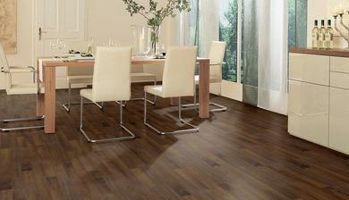 koupená podlaha do obýváku - ořech siena
