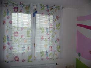 nová záclona v pokojíčku