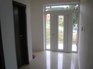Vchodové dvere z vnútornej strany