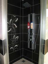 Sprchový kút otvorený