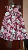 Hello Kitty spoločenské šaty pre princezničku, 110