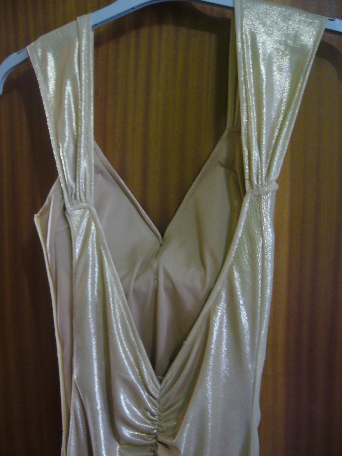 Elegantné perleťové šaty - Obrázok č. 3