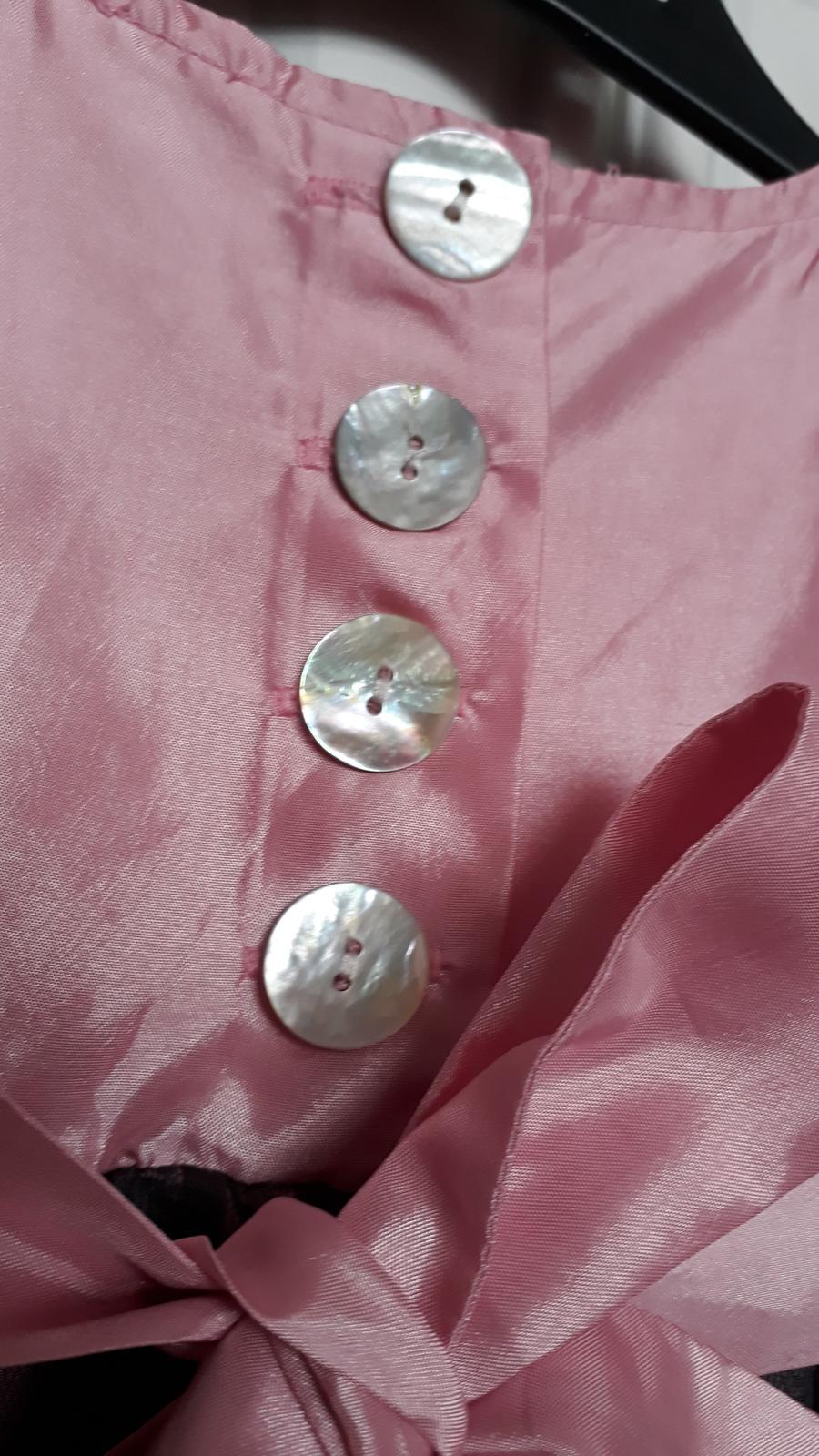 Luxusné šaty s krajkou - Obrázok č. 3