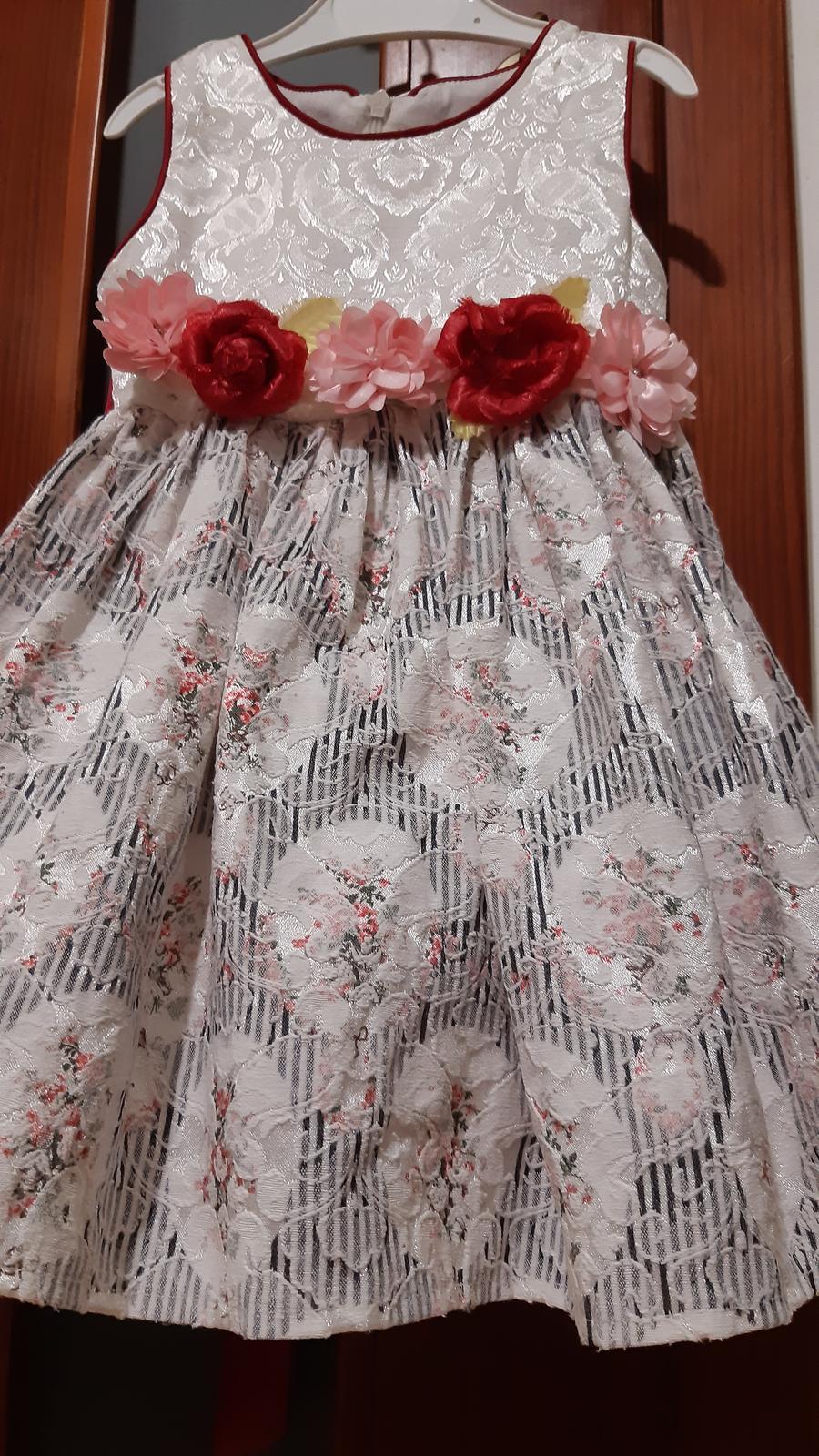 Luxusné vintage šaty - Obrázok č. 3