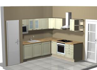 Vizualizacia kuchyna,len farba bude nakoniec biela
