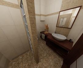 pohlad z rohu sprchoveho kuta