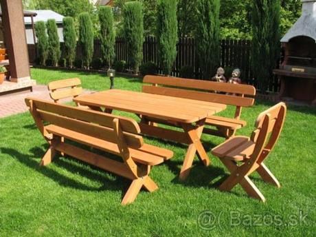 záhradné sedenie  - Obrázok č. 1