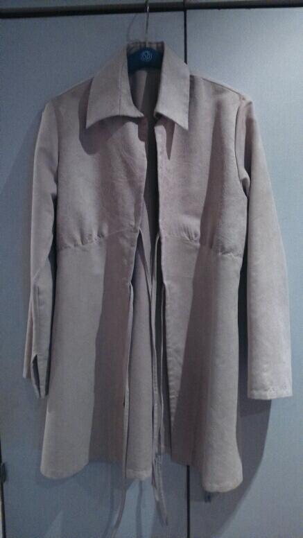 jemný semisovy kabátik  - Obrázok č. 1