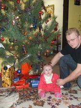 nase prve vianoce