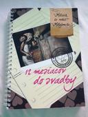 Kniha 12 mesiacov do svadby ,