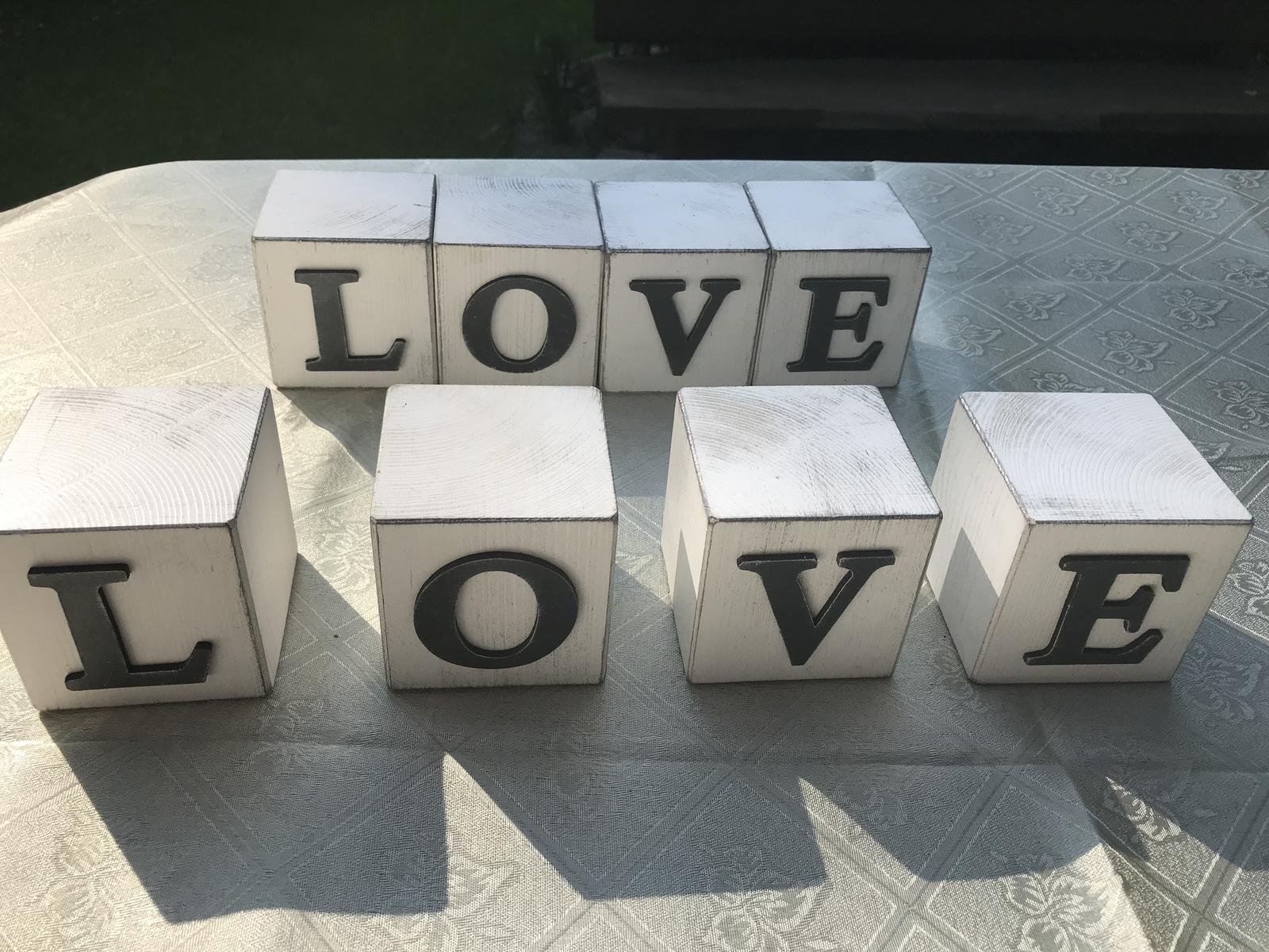 Kostky LOVE - Obrázek č. 1