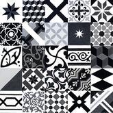 Farebne ladený mix (Čierno-šedo-biely) - 70,92 € s DPH/m2 (zníženie o 44%).