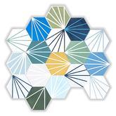 Mix šesťuholníkov s líniovým vzorom - 70,92 € s DPH/m2 (zníženie o 44%).