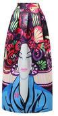 mnohofarebná originálna sukňa, S