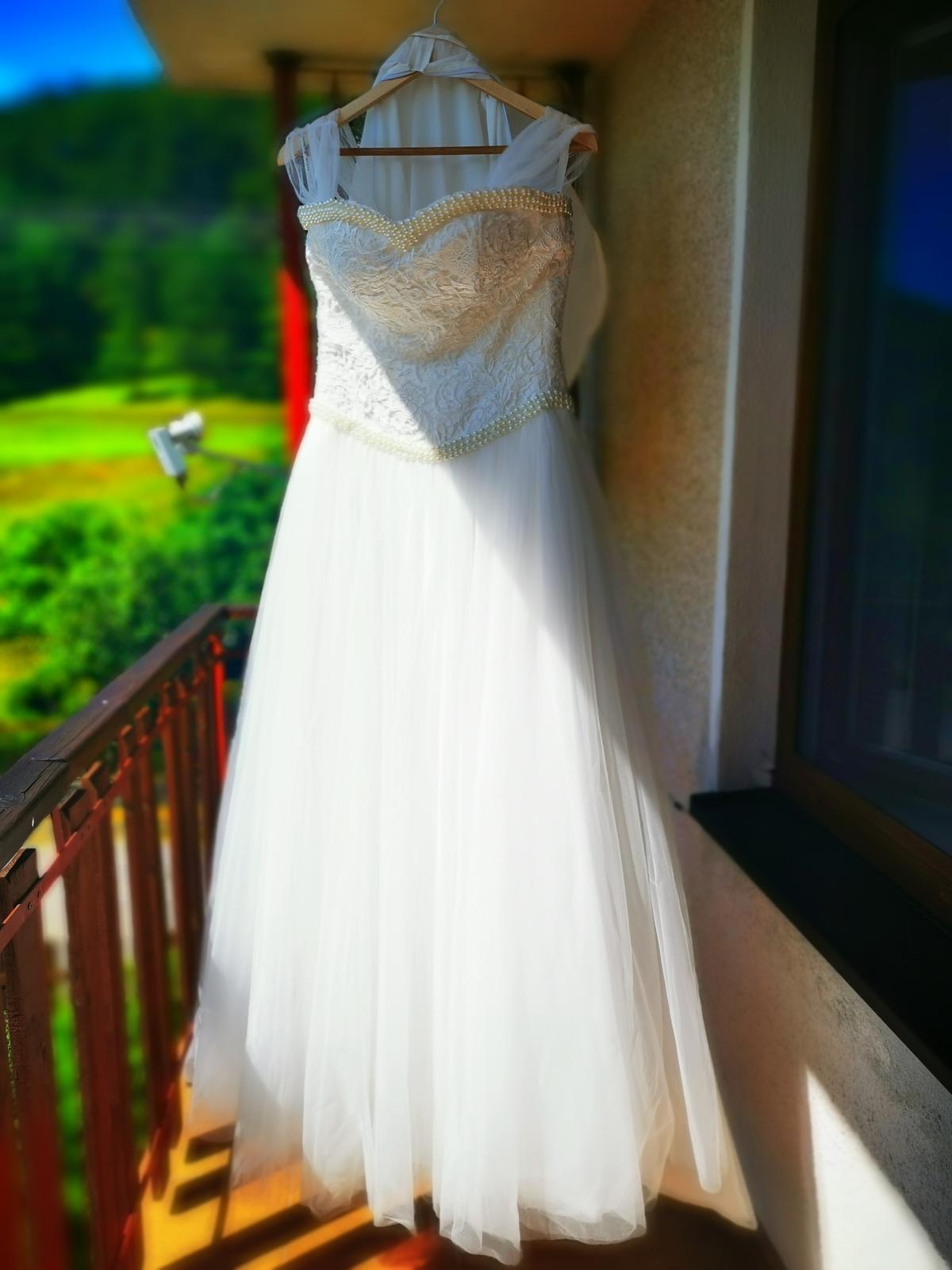 Svadobné šaty ivory - Obrázok č. 2