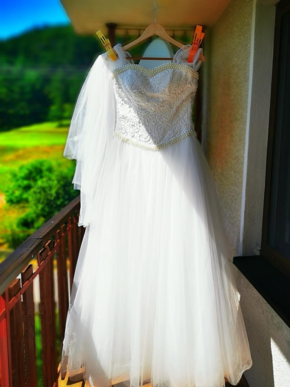 Svadobné šaty ivory - Obrázok č. 3