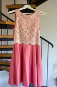 Růžové šaty River Island pro hosta nebo svědkyni, 34