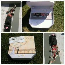 Krabice od pizzy :D Zajímavé zpracování