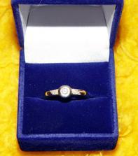 Snubný prsteň 2