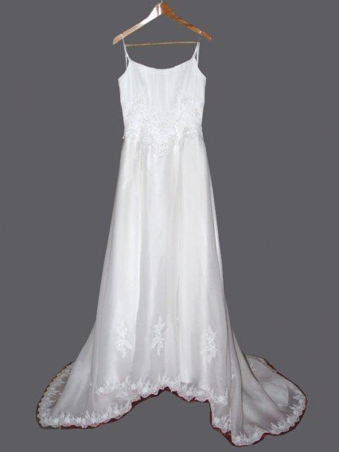 Svadobné oznámenie a ostatné na 1.10.2005 - Svadobné šaty z predu