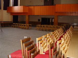 Kulturny dom Malcov sála